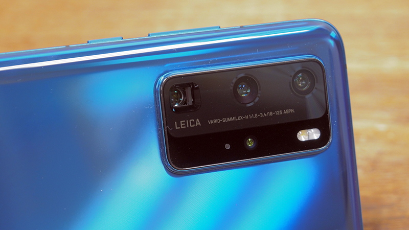 The star of the Huawei P40 Pro - its camera system.