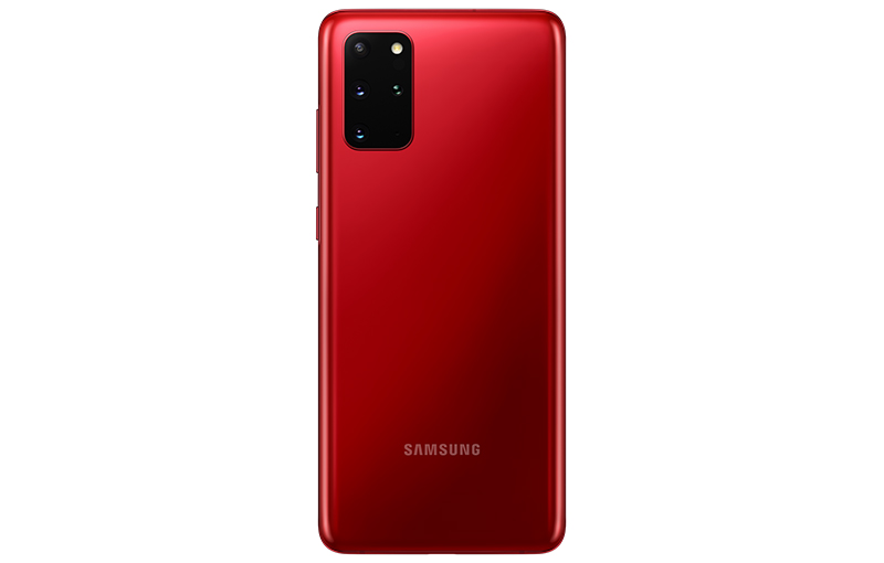 Aura Red Galaxy S20+.