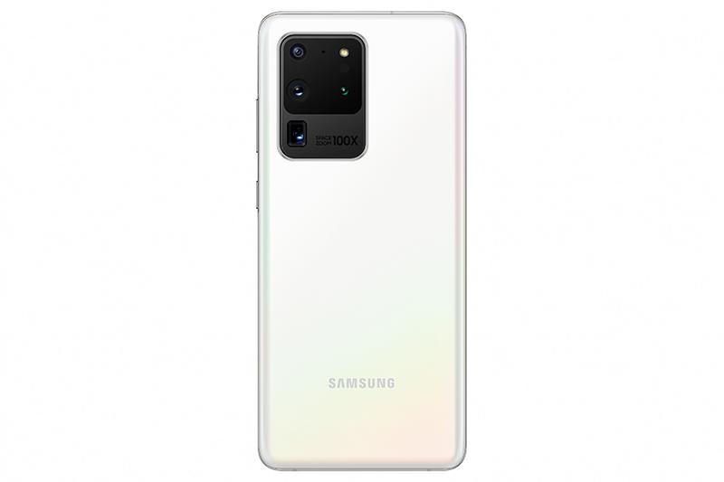 Cloud White Galaxy S20 Ultra.