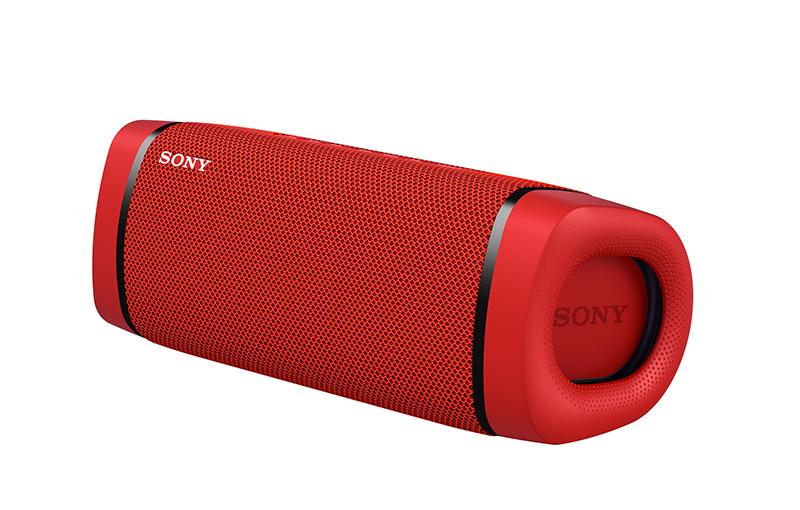 Sony SRS-XB33 in Red.