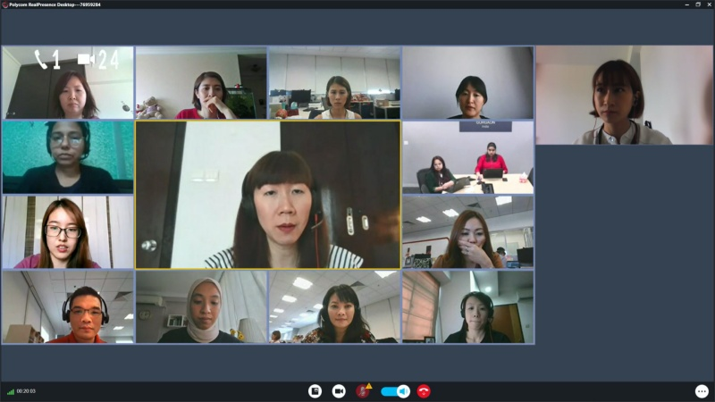 Video conferencing has become part of the new normal.