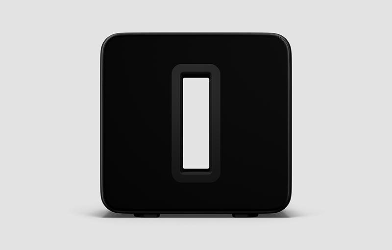 Sonos Sub in Black.