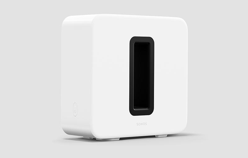 Sonos Sub in White.