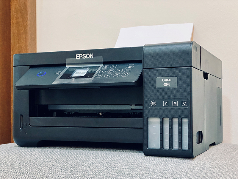 Auto duplex and AirPrint are why the Epson L4160 got the nod over the L4150.