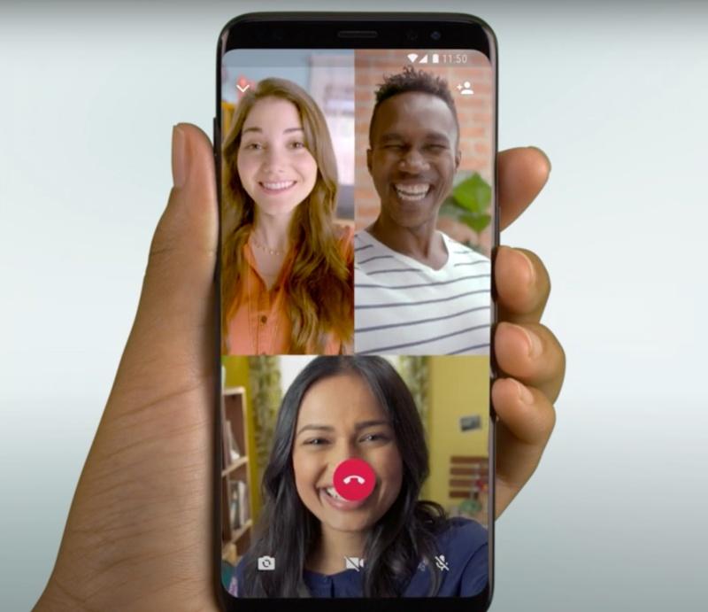 WhatsApp Group Video Call.