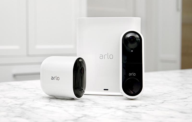 Arlo Video Doorbell.