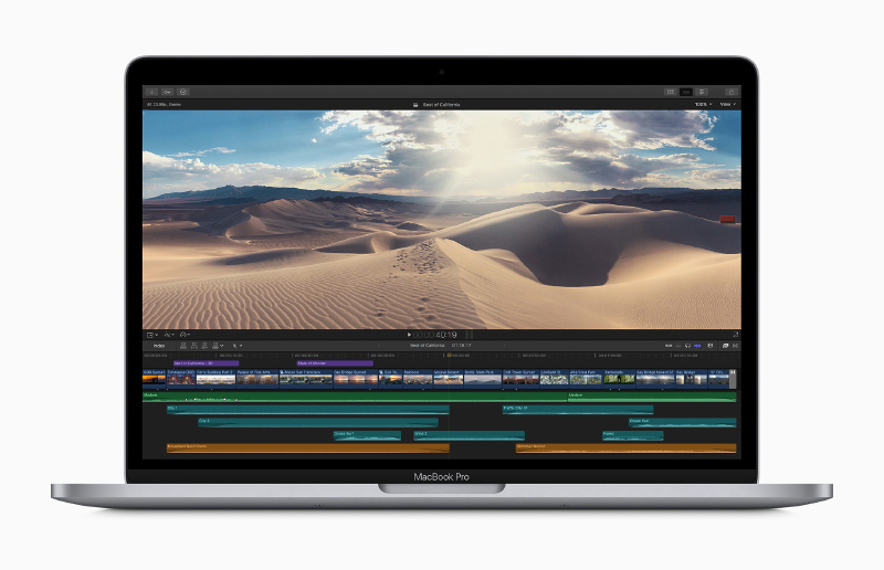 Thanks to more memory and storage as standard, the latest 13-inch MacBook Pro now represents better value. (Image source: Apple)