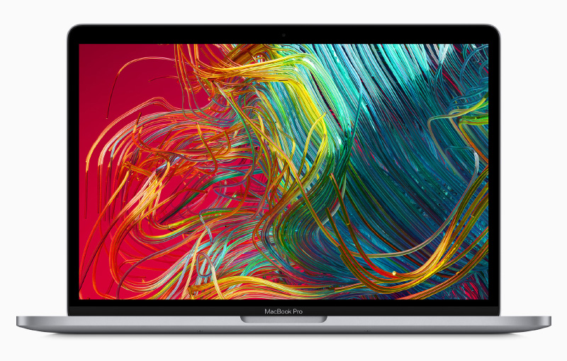 The MacBook Pro has a brighter, more vibrant display. (Image source: Apple)