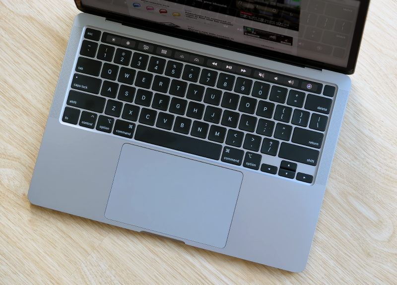 Apple's entire lineup of notebooks now have Magic Keyboards.