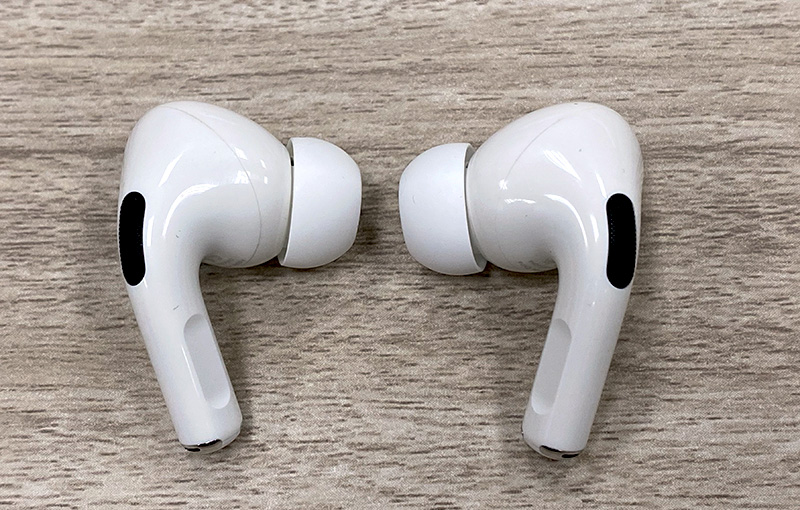 The current Apple AirPods Pro.