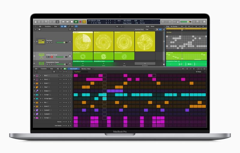 Say hi to Logic Pro X 10.5 (Image source: Apple)