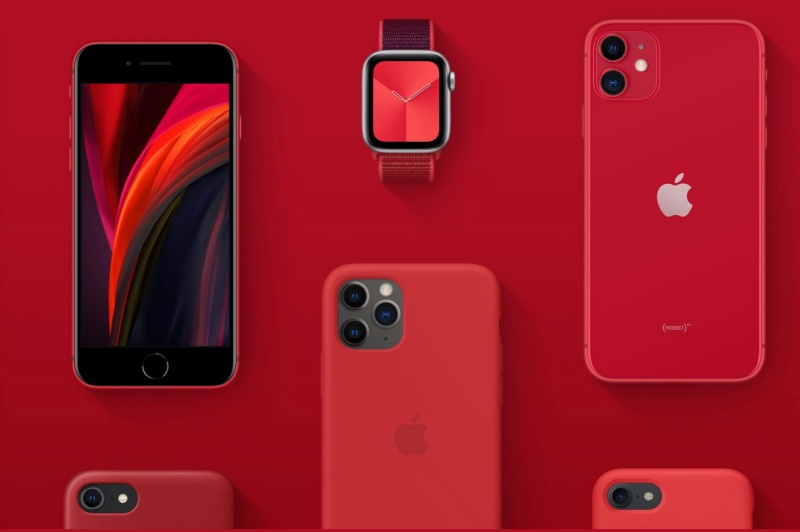 Apple's (Product)Red programme.