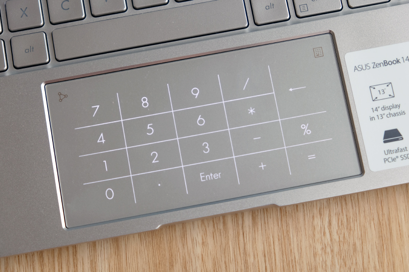 The second-generation ASUS NumberPad 2.0.