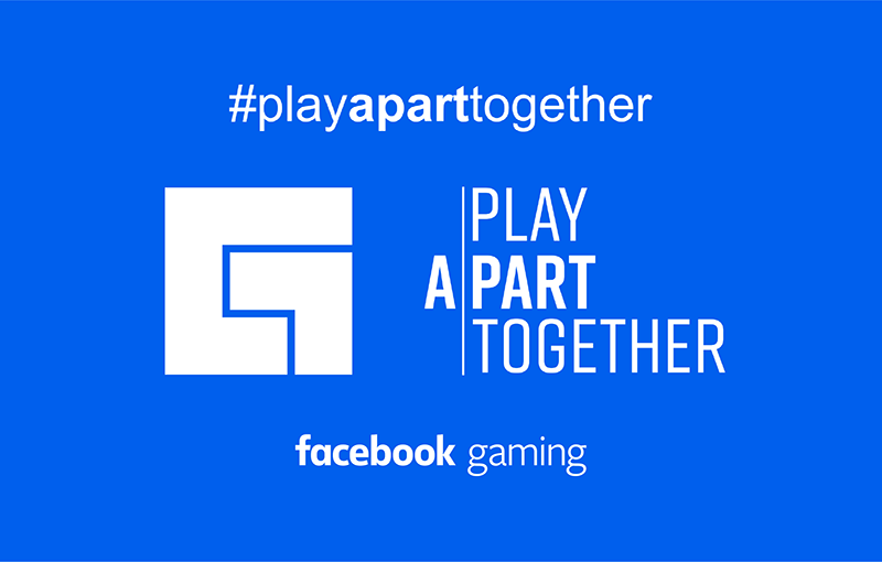 Facebook Gaming's FB page banner.