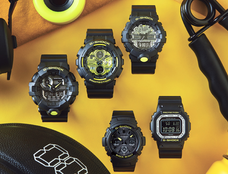 "The G-Shock ""Digital Camouflage"" series. (Image source: Casio)"