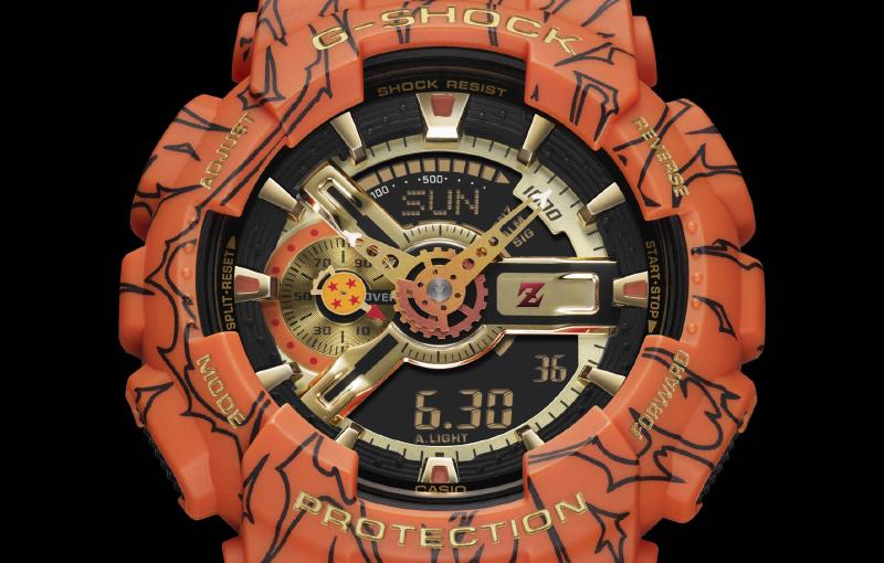 G-Shock x Dragon Ball Z GA-110JDB (Image source: Casio)