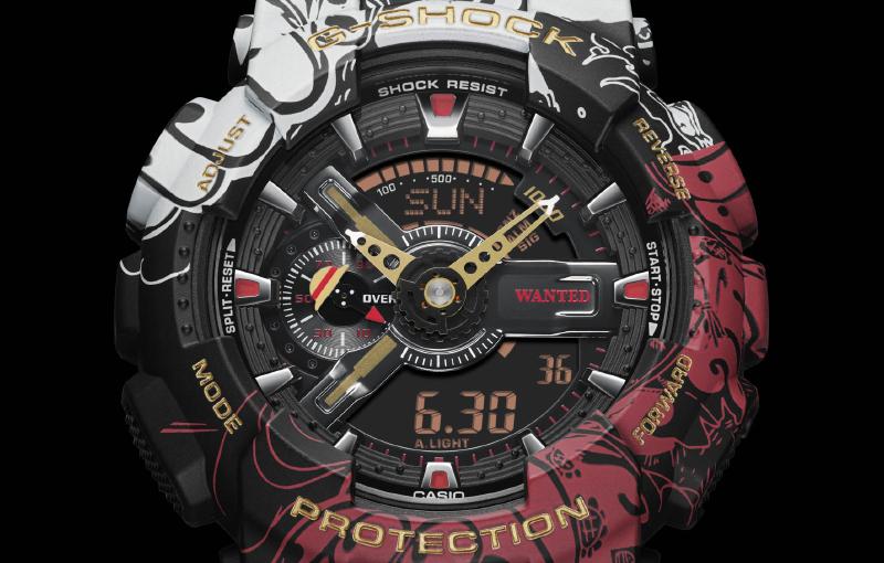 G-Shock x One Piece GA-110JOP (Image source: Casio)