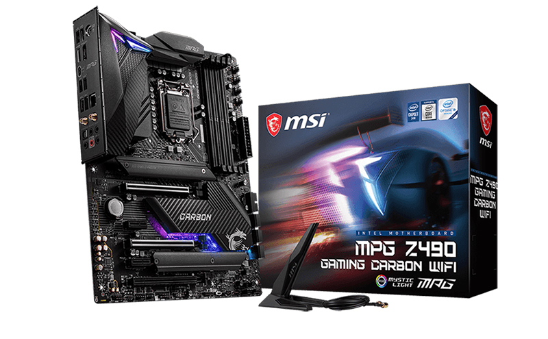MSI MPG Z490 Gaming Carbon Wi-Fi