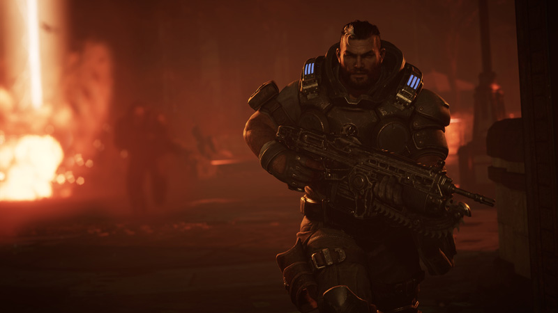 Gears Tactics' story won't blow you away, but it's good enough to keep you playing. | Image: Xbox Game Studios