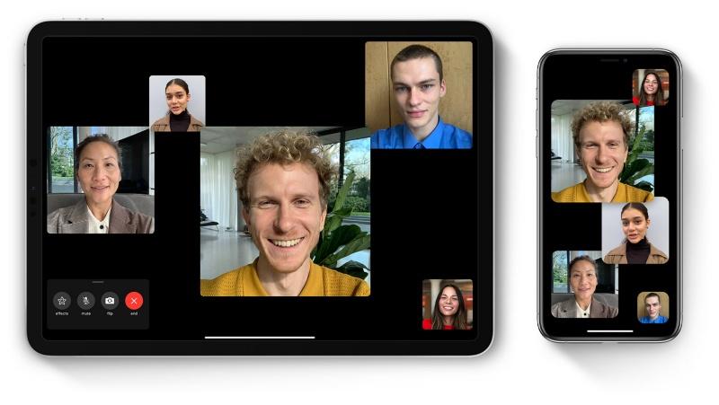 Apple's Group FaceTime.