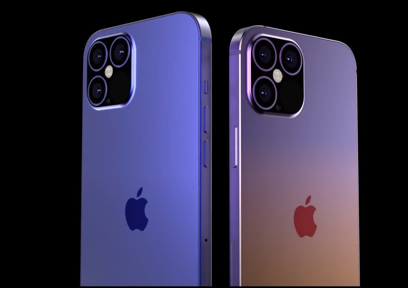 """Screenshot taken from EverythingApplePro's YouTube video on """"Exclusive iPhone 12 Pro Max Design Leaks! It's HUGE."""""""