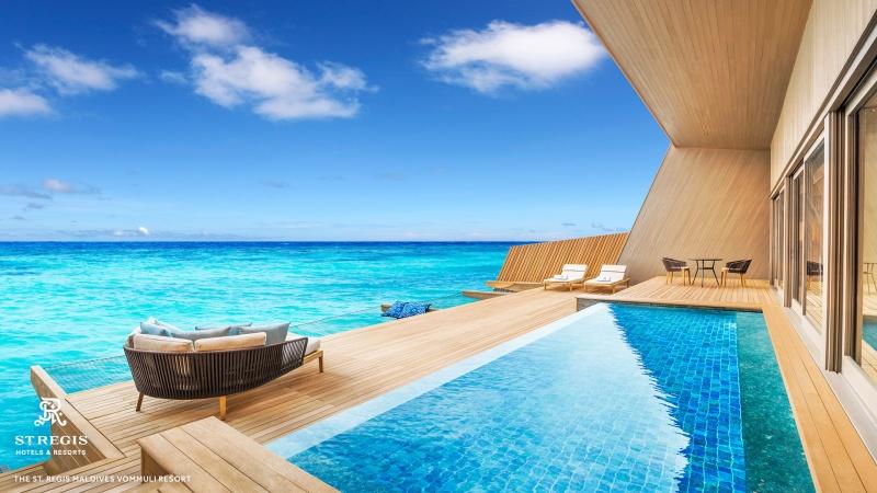 The St. Regis Maldives Vommuli Resort.
