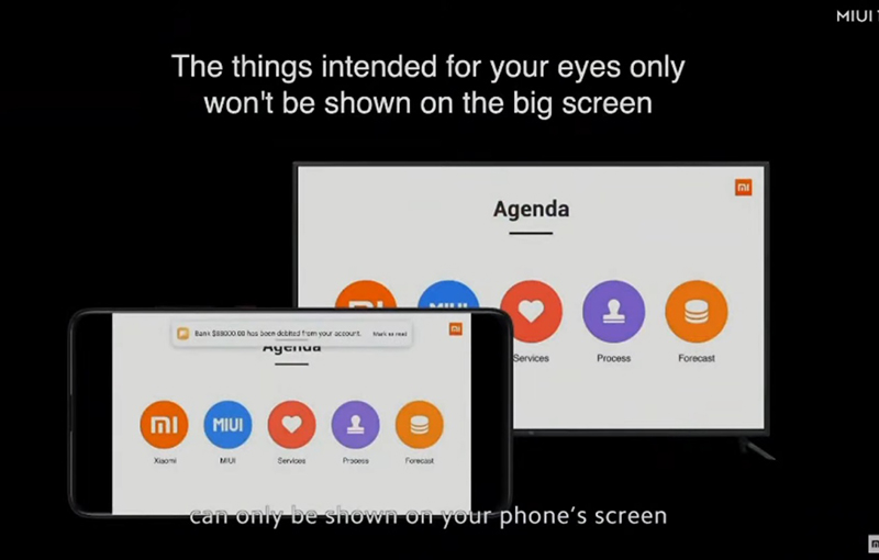 Casting now comes with a Private Casting option that hides notifications when you're busy with a presentation.