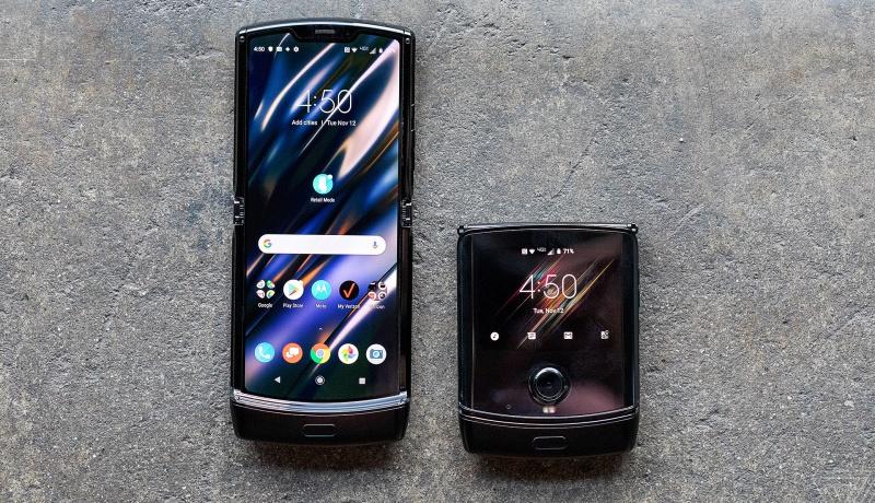 The late-2019 version of the Motorola Razr. Source: The Verge.