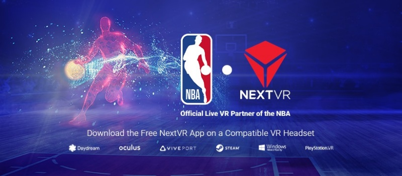 NextVR is a California-based VR company that delivers live sports and entertainment to fans around the world. <br>Image source: NextVR