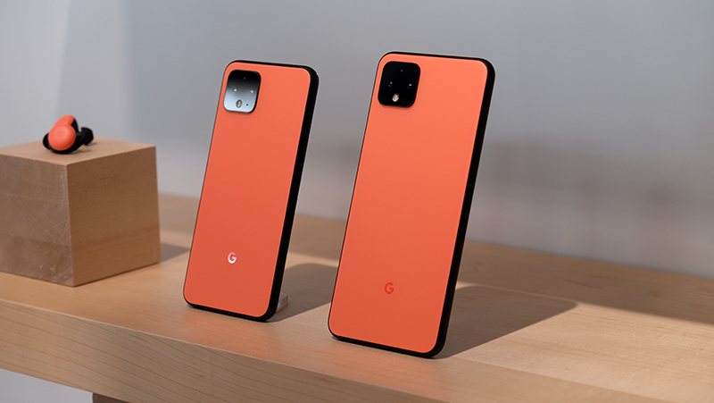 The Google Pixel 4 lineup.