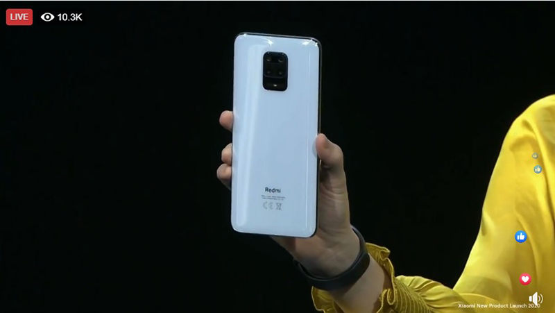 Remi Note 9 Pro in White.