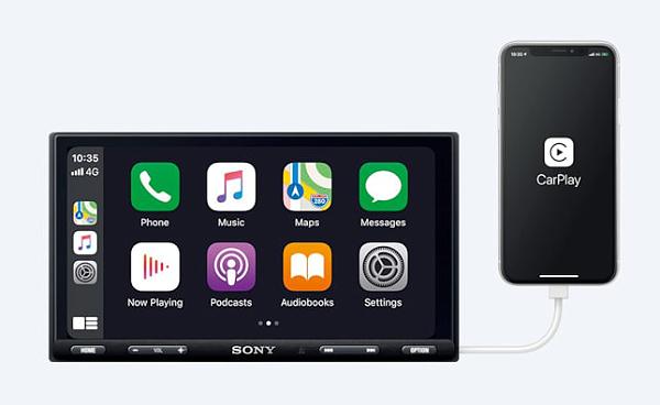 The XAV-AX5500. (Image source: Sony)