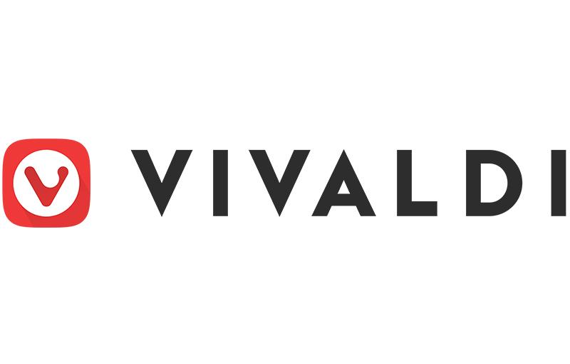 Vivaldi logo.