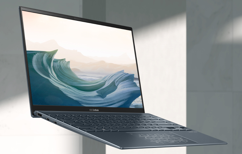 The new ZenBook 14 UX425 (Image source: ASUS)