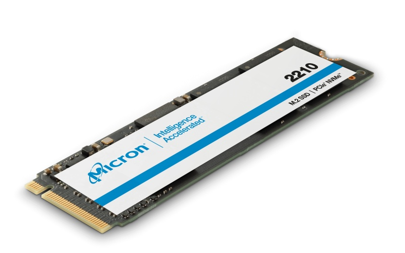The Micron 2210 SSD is built on QLC with NVMe