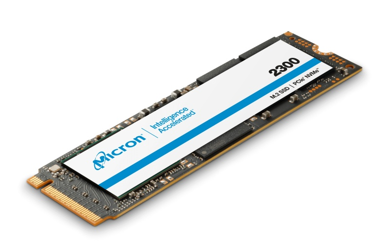 The Micron 2300 SSD is built on TLC NAND