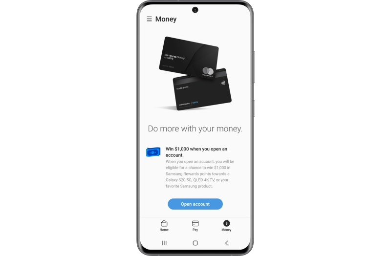 Samsung Money is tightly integrated with the Samsung Pay app.