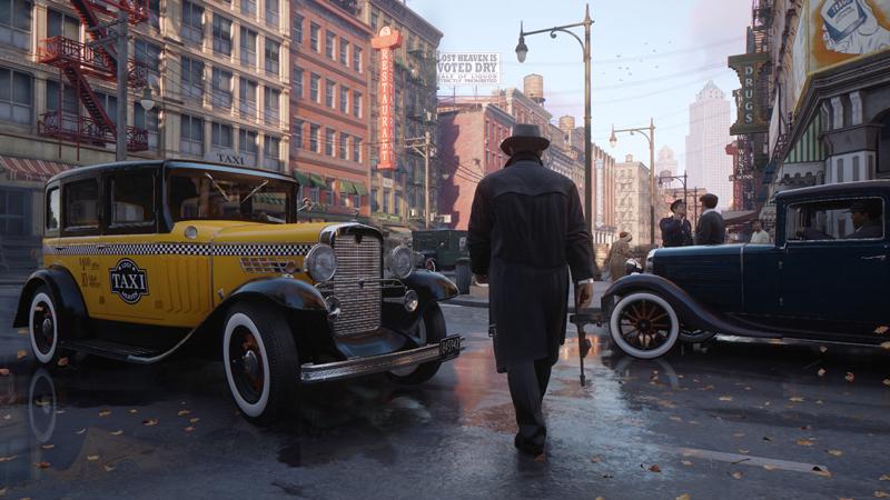 The remake of Mafia. | Image: 2K Games