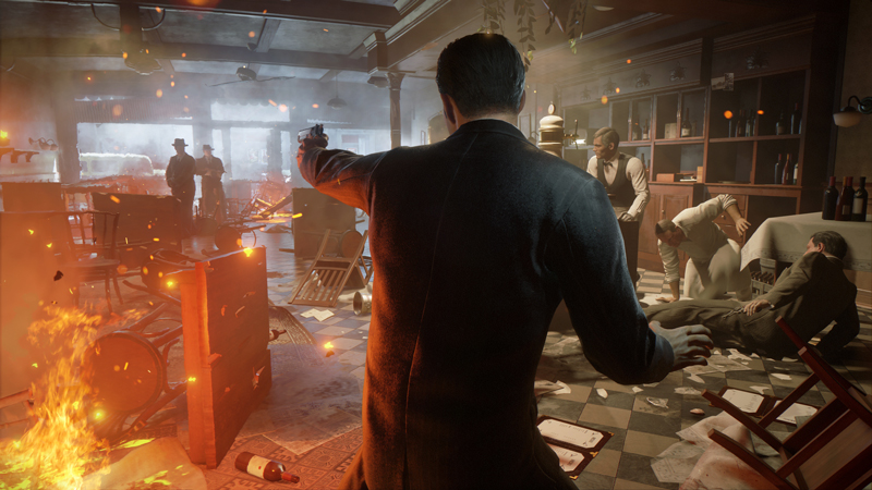 An action-packed look at Mafia: Definitive Edition. | Image: 2K Games