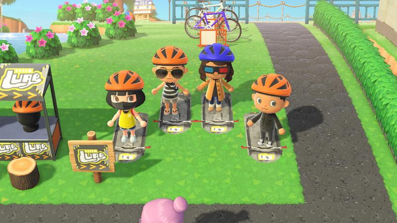 You can even go biking! Kinda.