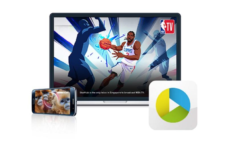 Enjoy the new StarHub TV+. Image courtesy of StarHub