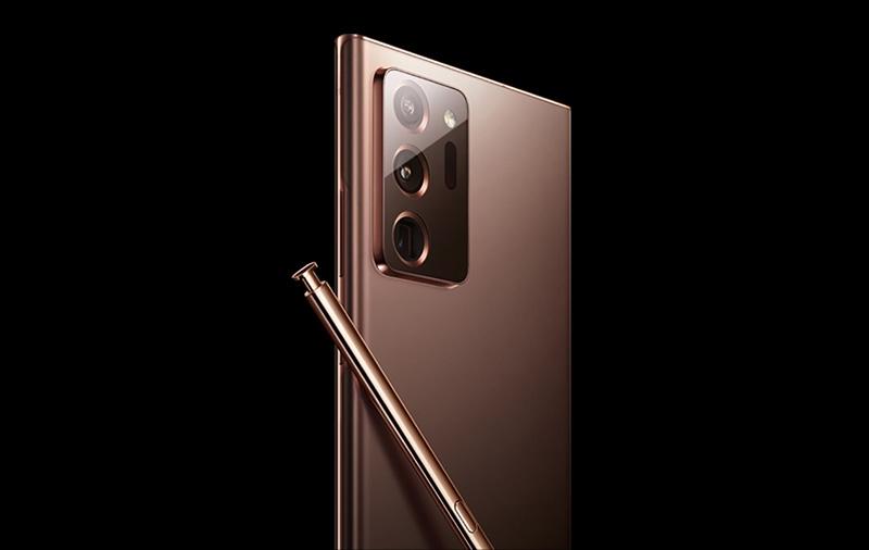 Purported press image of the Samsung Galaxy Note20. Image source: @ishanagarwal24
