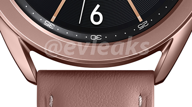 This is apparently the 41mm version in a bronze color case. (Image: Evan Blass (@evleaks) on Twitter.)