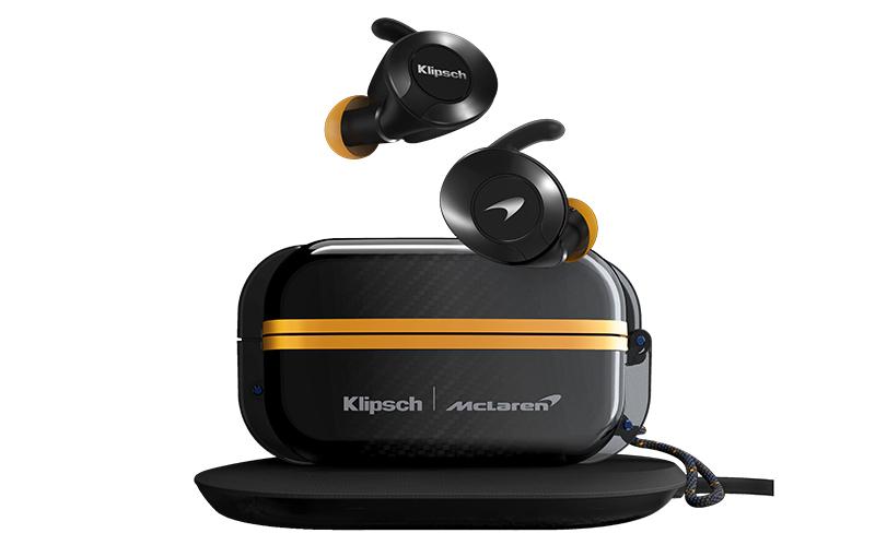 Klipsch And Mclaren Partner Up For The T5 Ii True Wireless Sport Mclaren Edition Earphones Hardwarezone Com Sg