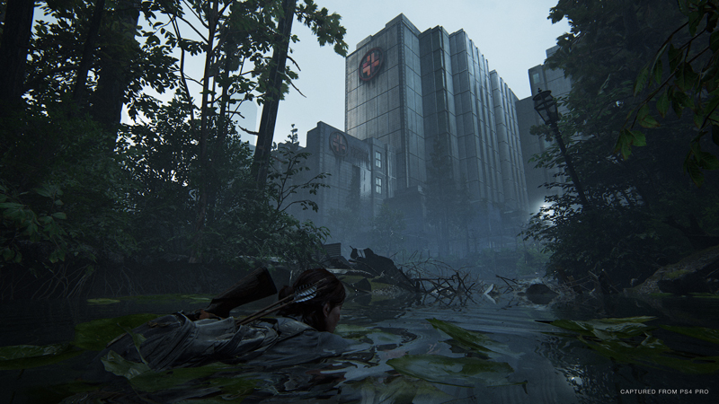 Ellie searches for a woman named Nora, who's holed up in a hospital. The hospital has been taken over by one of the new human factions introduced in this game.   Image: Sony Interactive Entertainment