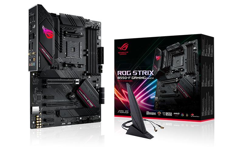 ASUS ROG Strix B550-F Gaming (Wi-Fi). (Image Source: ASUS)