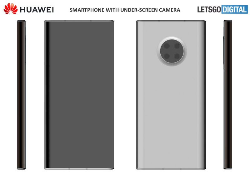 One of the patents shows a phone with a different camera layout. <br>Image source: LetsGoDigital.