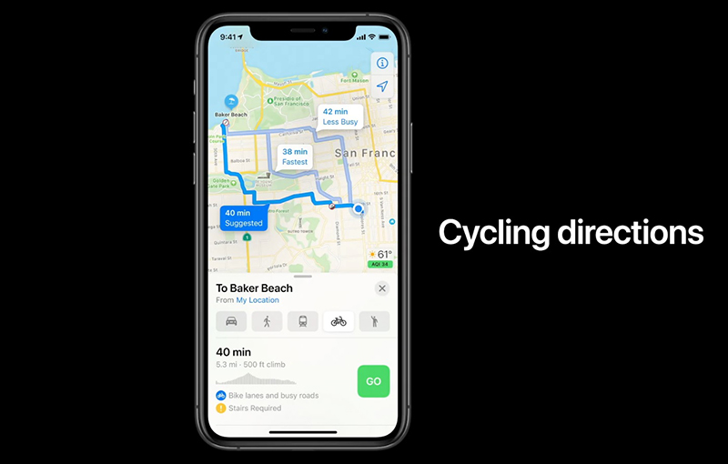 Cyclists on the iOS ecosystem, rejoice!