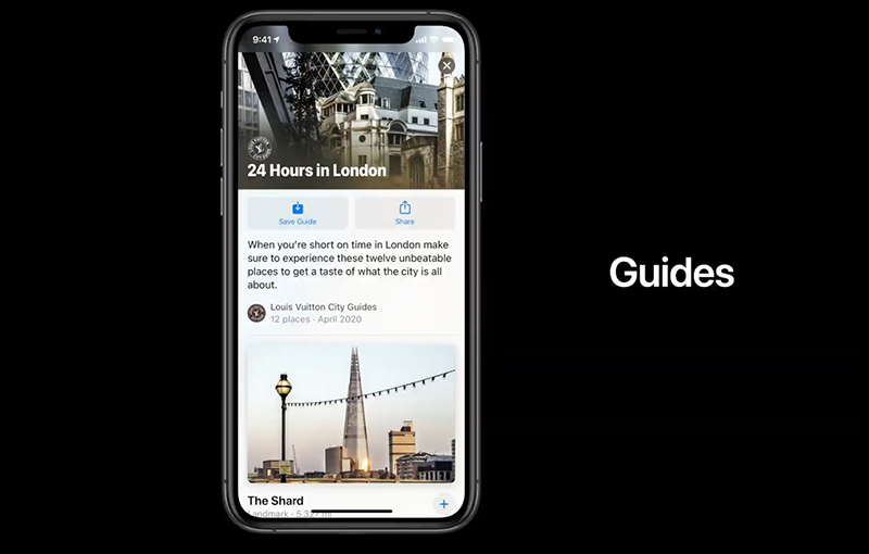 Apple Maps now makes it easier to find interesting or great places of interest with Guides.