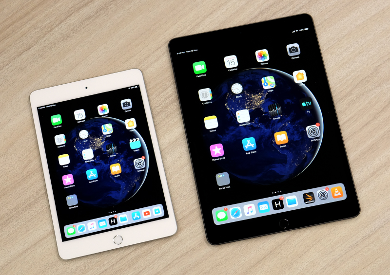 The 2019 Apple iPad Mini and iPad Air.